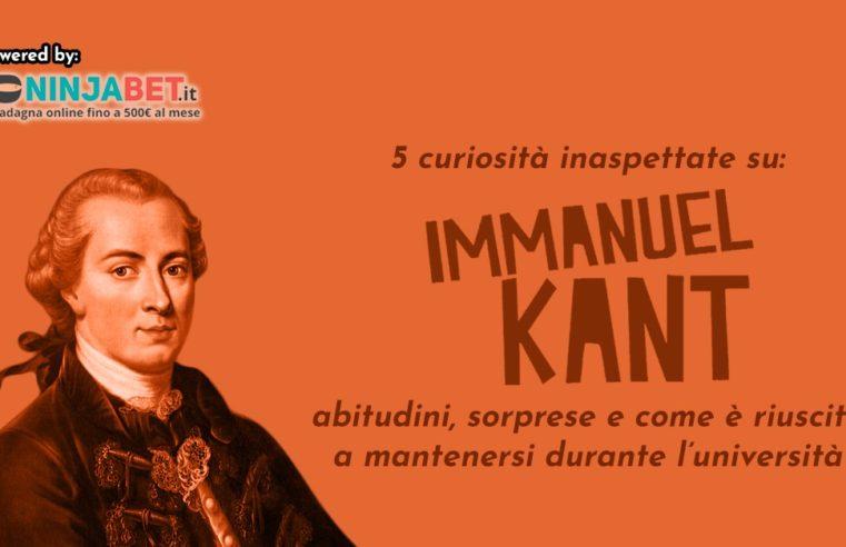 5 curiosità inaspettate su Kant: abitudini, sorprese e come è riuscito a mantenersi durante l'università
