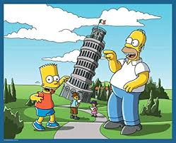 I Simpsons a Pisa