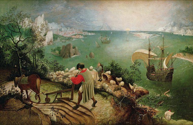Come Pieter Bruegel, attraverso il mito di Icaro, affronta l'ansia sociale