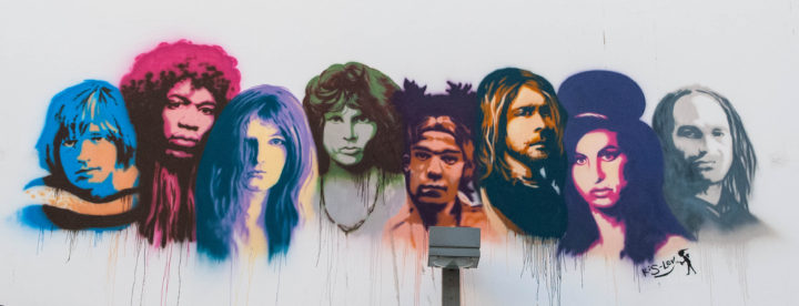 27 Club graffiti