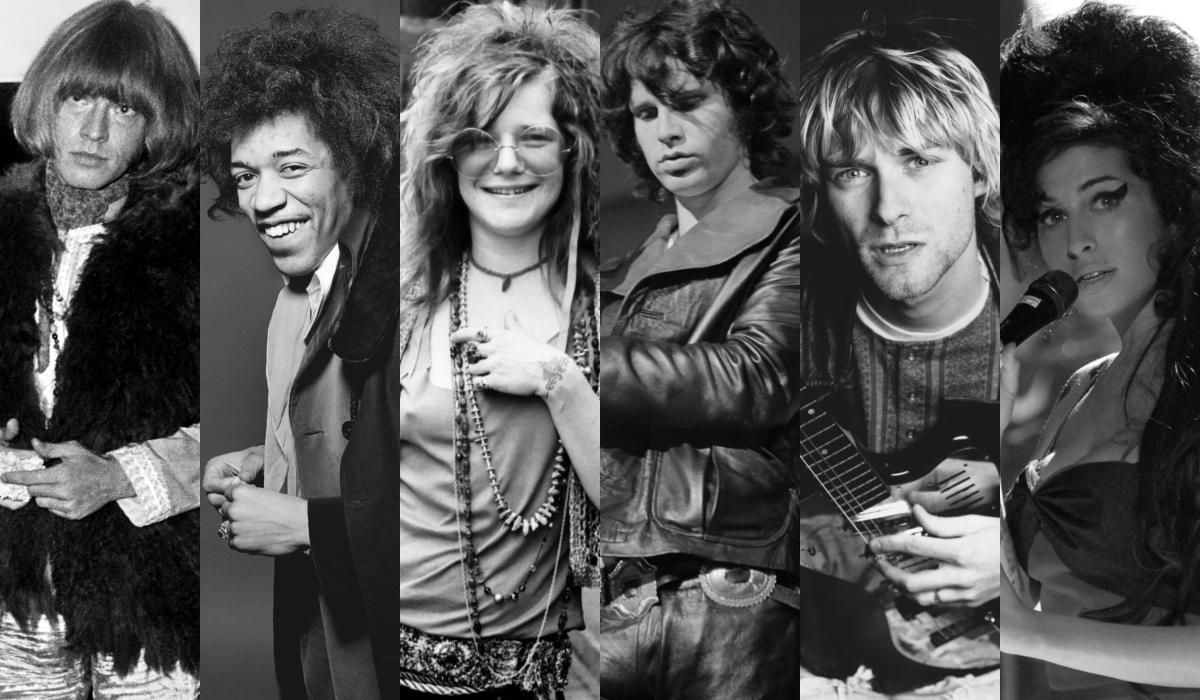 """27 Club: la """"maledizione"""" dei grandi artisti morti a 27 anni"""