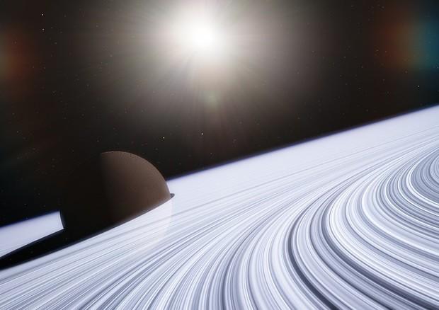 Quando tutto inizia a girare: dagli anelli di Saturno al paradiso dantesco