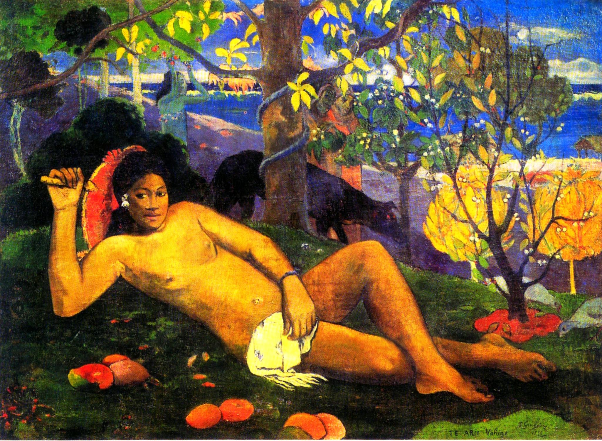 Paul Gauguin: dipingere e pensare liberi dalle catene del moralismo sessuale occidentale.