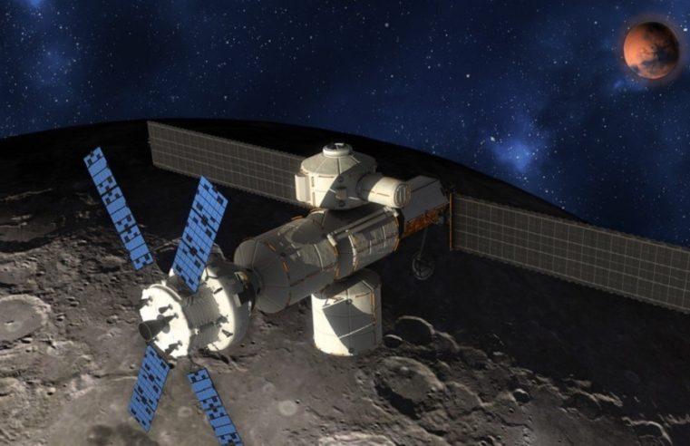 La nuova stazione spaziale: dall'orbita particolare attorno alla Luna a Moon