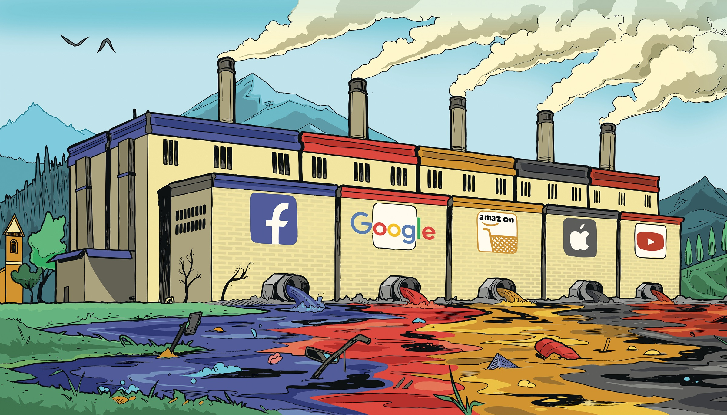 Inquinamento digitale: il web nemico dell'ambiente e i suoi costi ambientali