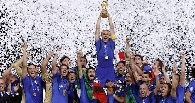 Il calcio in Italia: da Leopardi e Saba fino ai rigori del 2006