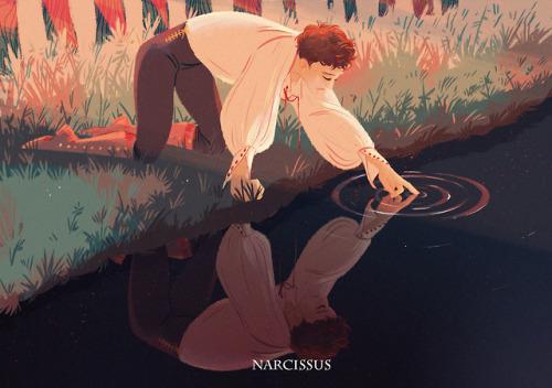 Il mito di Narciso tra l'arte caravaggesca e il disturbo narcisistico della personalità