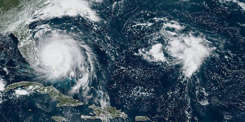 'That's karma': la frase che l'Albatros di Coleridge e l'uragano Dorian potrebbero dire all'umanità