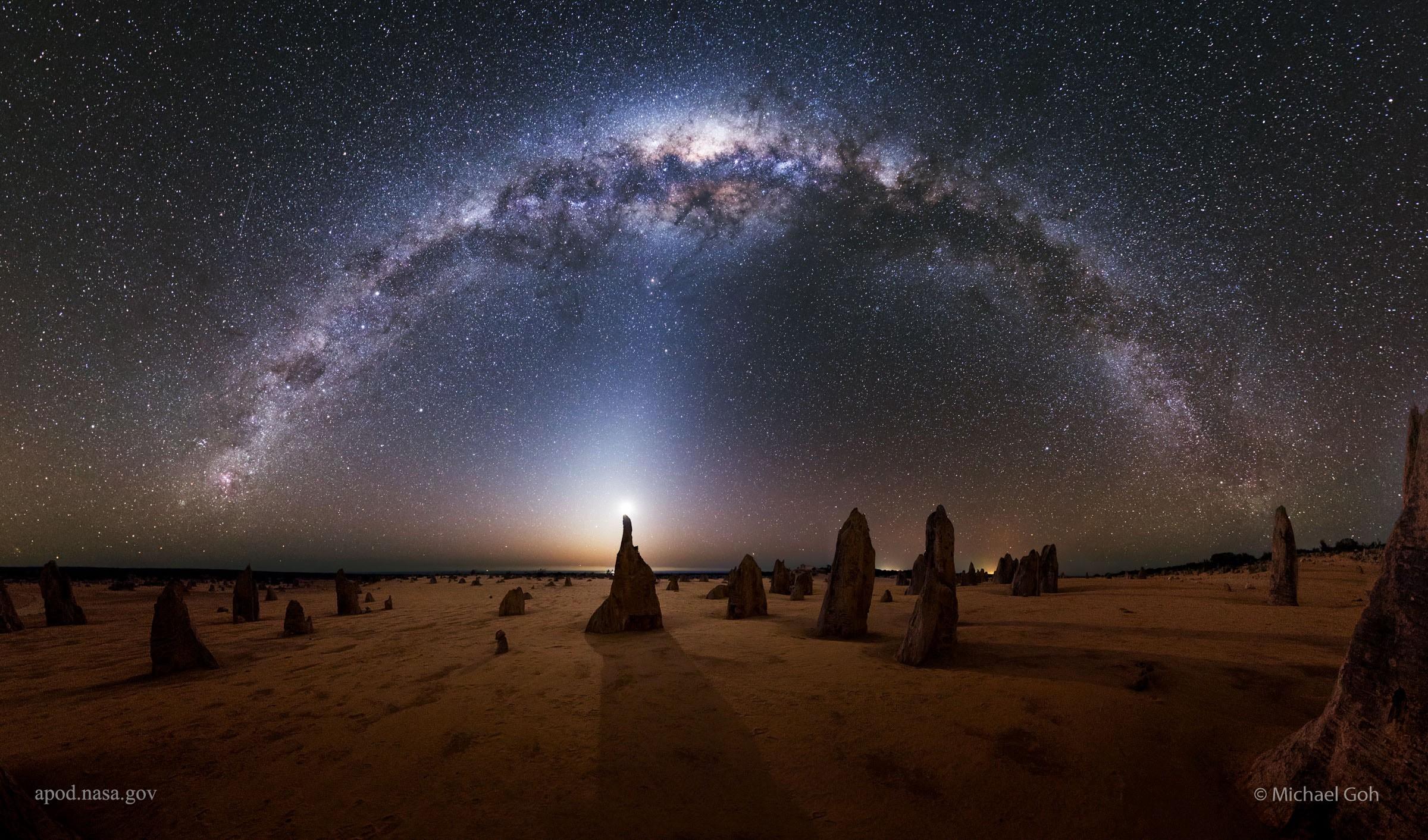 Il mito della nascita della Via Lattea dimostra come l'uomo percepisce i colori