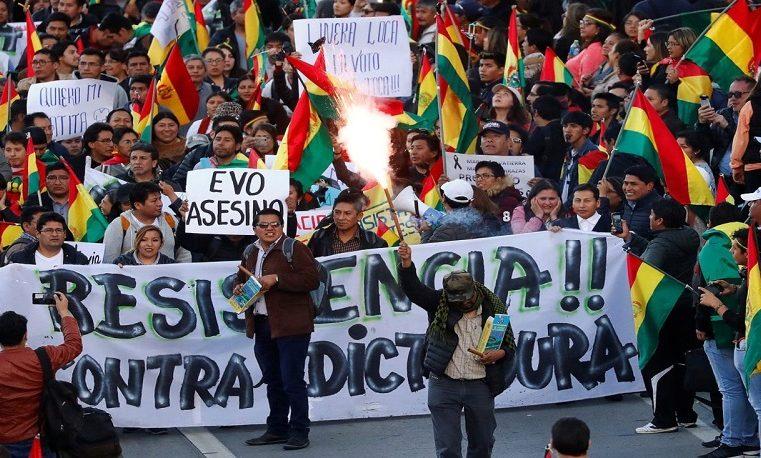 Il caos boliviano è un negativo hegeliano, la storia non commette errori.