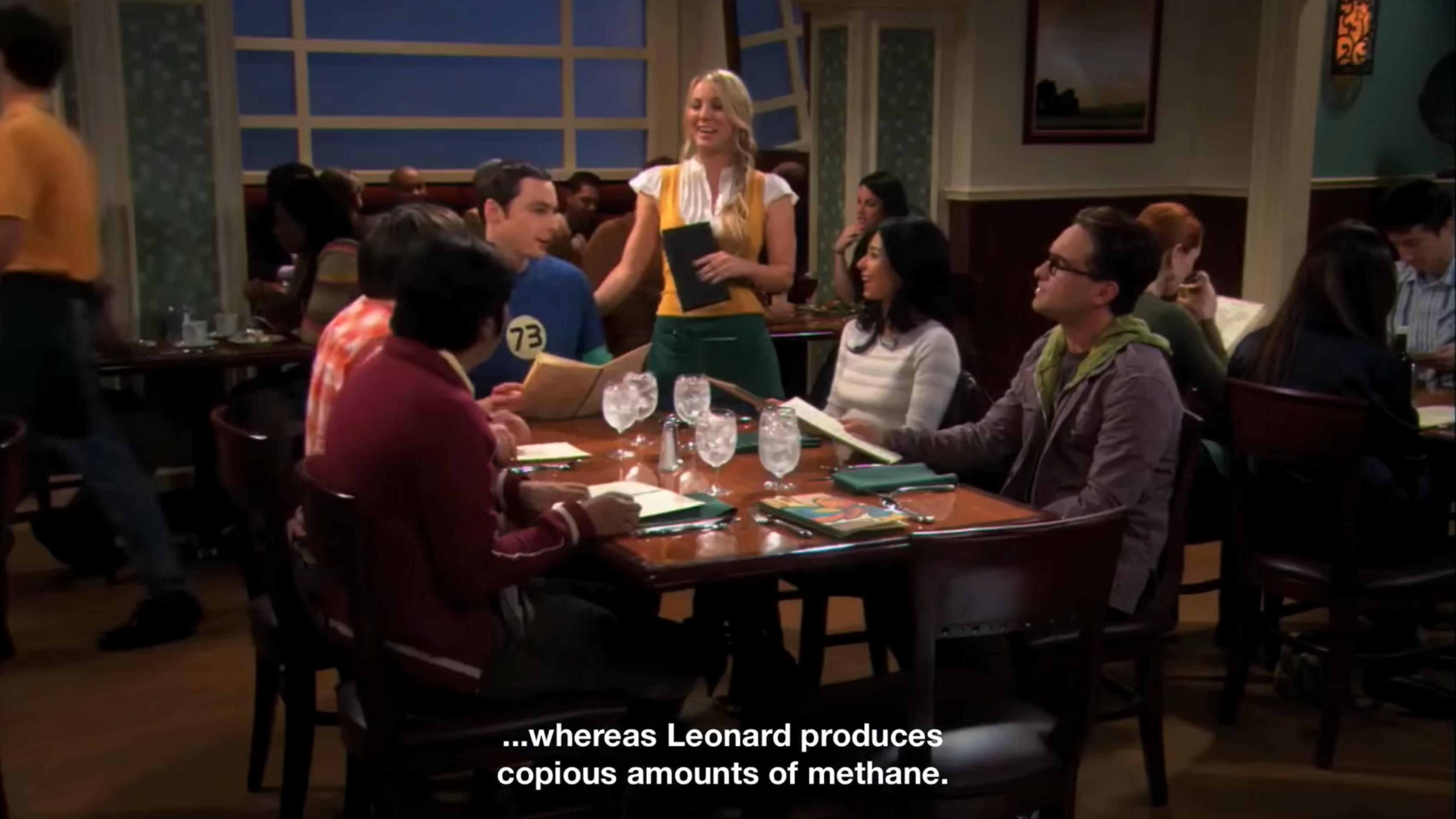Leonard di The Big Band Theory è intollerante al lattosio, scopriamo perché