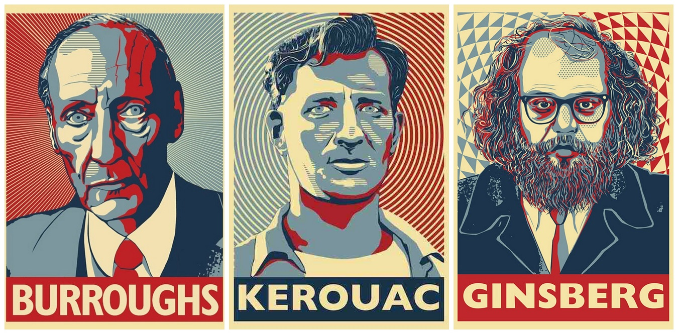 Kerouac, Ginsberg e Bourruughs: il vero motore della Beat Generation! Esiste una risposta italiana?