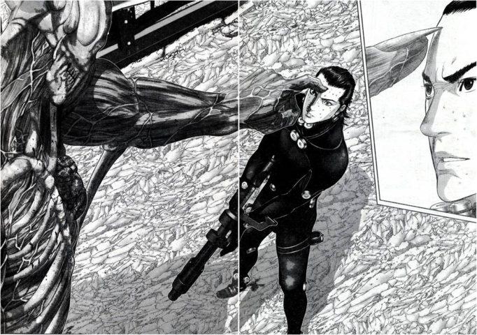 La brutalità degli scontri di Gantz