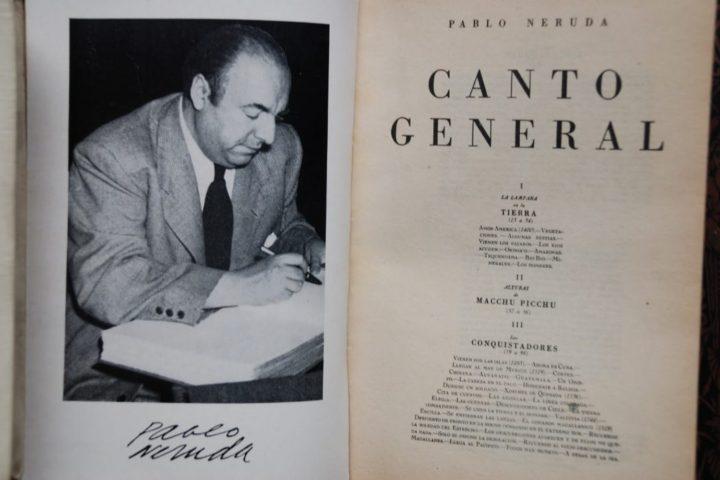 canto general di Neruda