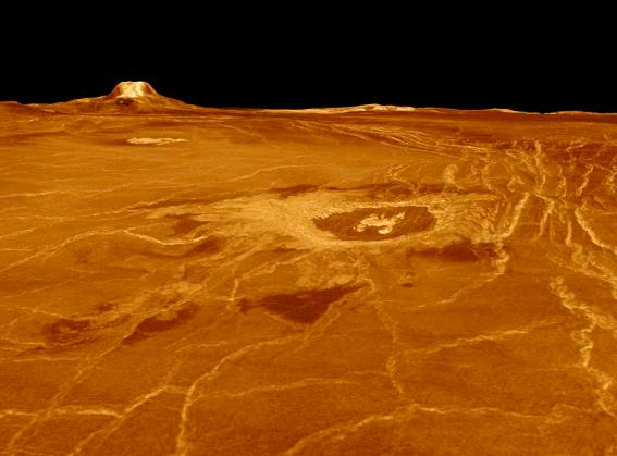 Venere e i suoi vulcani attivi che rendono il pianeta ormai invivibile